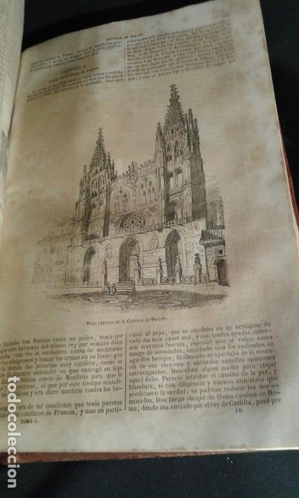 Libros antiguos: Historia General de España. Padre Mariana. Gaspar y Roig. Tomo I y II. Madrid. 1852. - Foto 13 - 183774035