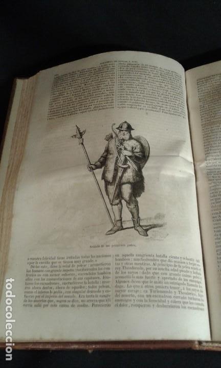 Libros antiguos: Historia General de España. Padre Mariana. Gaspar y Roig. Tomo I y II. Madrid. 1852. - Foto 14 - 183774035