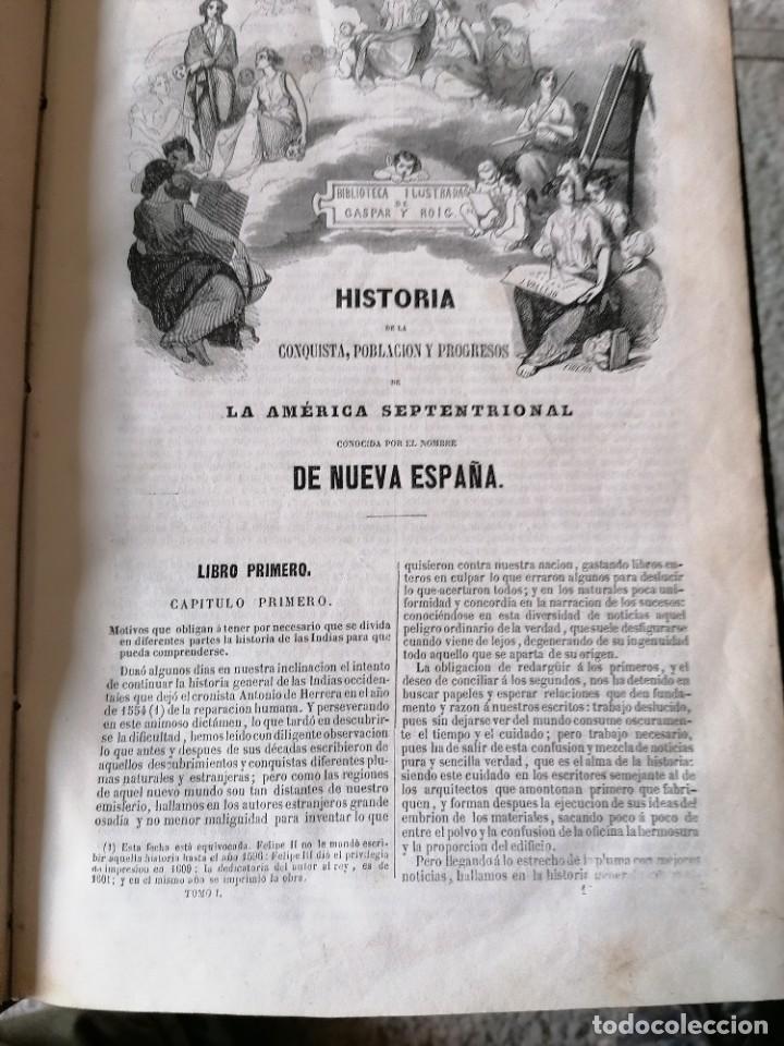 Libros antiguos: HISTORIA DE LA CONQUISTA DE MÉJICO POR ANTONIO SOLIS, CONQUISTA DE PERU POR G. PRESCOTT - Foto 2 - 183782098