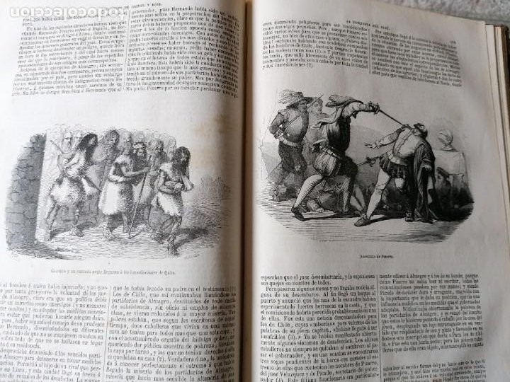 Libros antiguos: HISTORIA DE LA CONQUISTA DE MÉJICO POR ANTONIO SOLIS, CONQUISTA DE PERU POR G. PRESCOTT - Foto 7 - 183782098