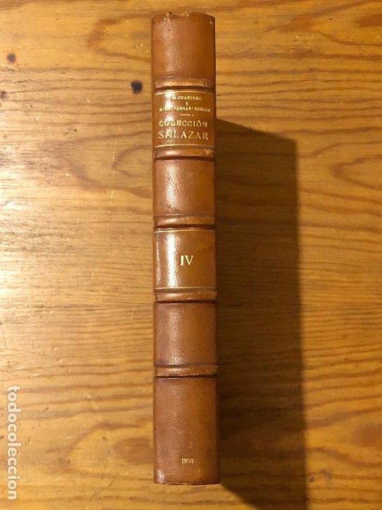 Libros antiguos: COLECCION SALAZAR-INDICES-D.LUIS SALAZAR Y CASTRO--4-TOMO IV (1950)(17€) - Foto 4 - 183855256