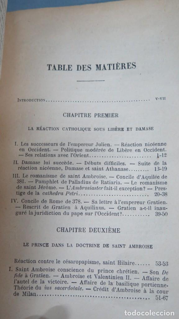 Libros antiguos: 1924.- LE SIEGE APOSTOLIQUE (359-451). BATIFFOL - Foto 2 - 183858368