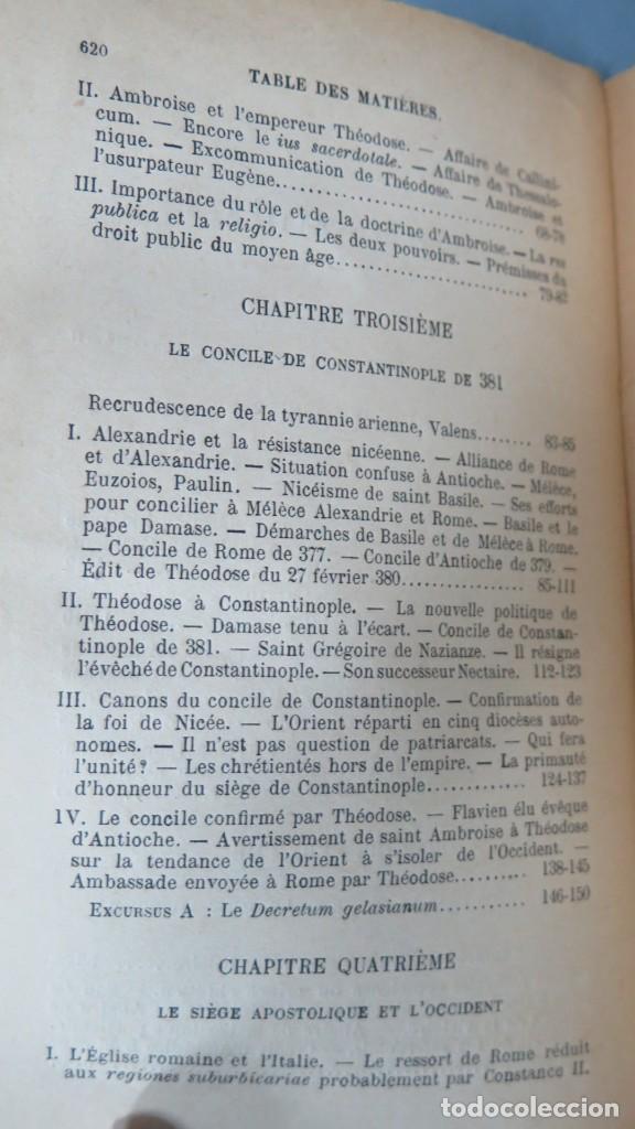 Libros antiguos: 1924.- LE SIEGE APOSTOLIQUE (359-451). BATIFFOL - Foto 3 - 183858368