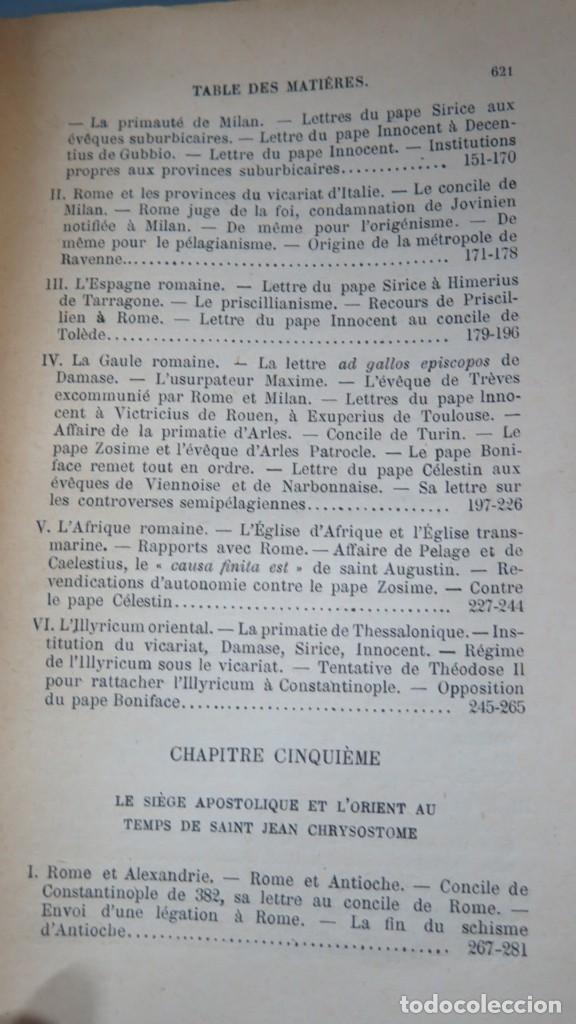 Libros antiguos: 1924.- LE SIEGE APOSTOLIQUE (359-451). BATIFFOL - Foto 4 - 183858368