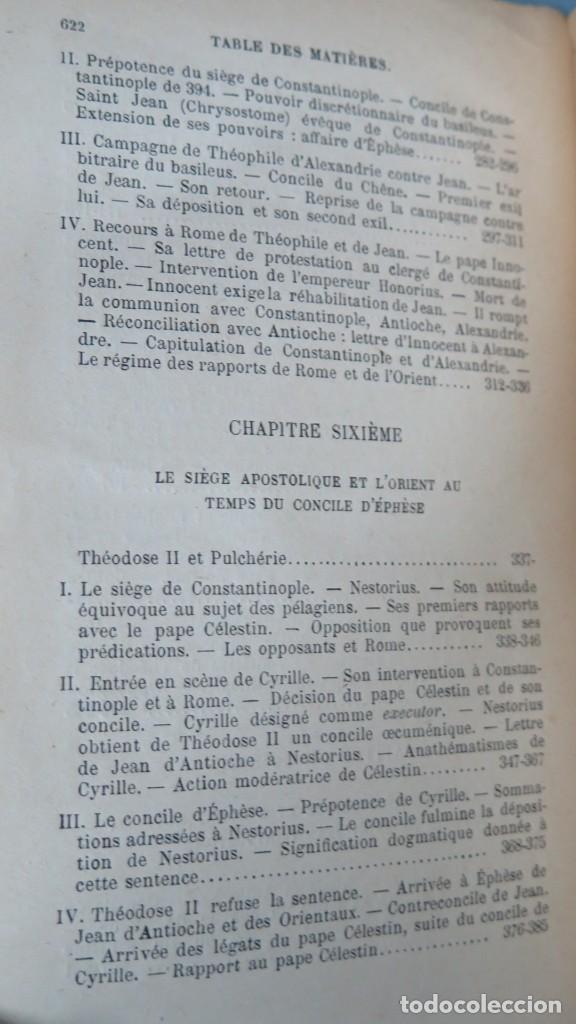 Libros antiguos: 1924.- LE SIEGE APOSTOLIQUE (359-451). BATIFFOL - Foto 5 - 183858368
