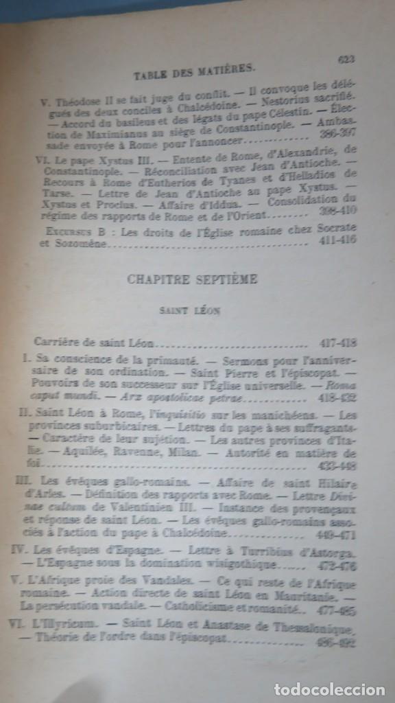 Libros antiguos: 1924.- LE SIEGE APOSTOLIQUE (359-451). BATIFFOL - Foto 6 - 183858368
