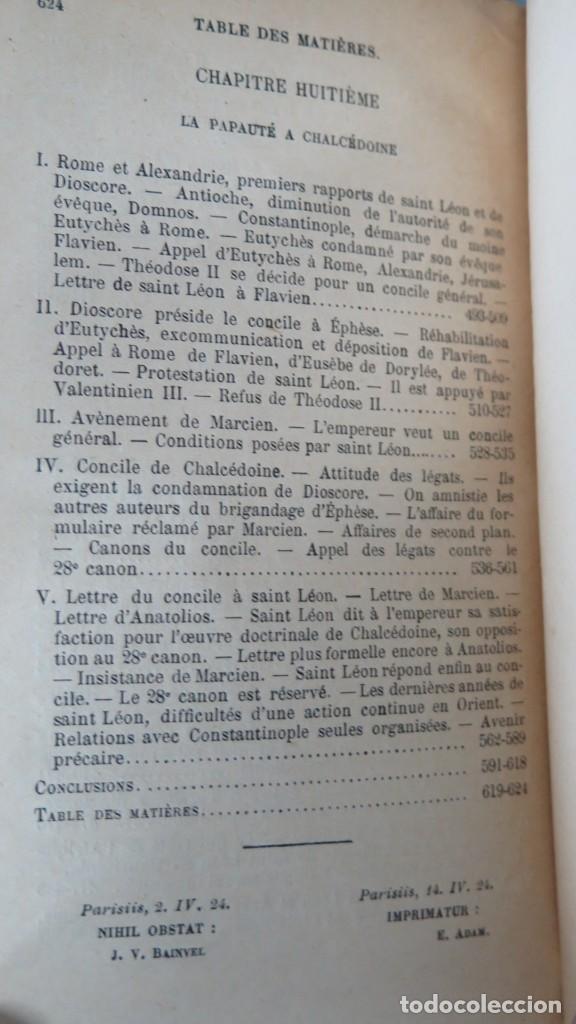 Libros antiguos: 1924.- LE SIEGE APOSTOLIQUE (359-451). BATIFFOL - Foto 7 - 183858368