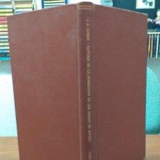 Libros antiguos: HISTORIA DE LA DOMINACIÓN DE LOS ÁRABES EN ESPAÑA - SACADA DE VARIOS MANUSCRITOS Y MEMORIAS ARÁBIGAS. Lote 183948982