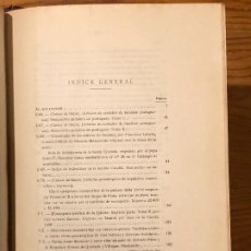 Libros antiguos: COLECCION SALAZAR-INDICES-D.LUIS SALAZAR Y CASTRO--20-TOMO XX(1957)(17€). Lote 184481973