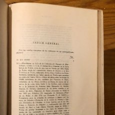 Libros antiguos: COLECCION SALAZAR-INDICES-D.LUIS SALAZAR Y CASTRO--38-TOMO XXXVIII(1967)(17€). Lote 184566668