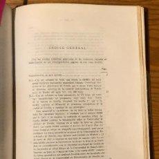 Libros antiguos: COLECCION SALAZAR-INDICES-D.LUIS SALAZAR Y CASTRO--43-TOMO XLIII(1972)(17€). Lote 184567287