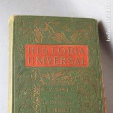 Libros antiguos: HISTORIA UNIVERSAL TOMO IV - V. DURUY: HISTORIA DE LOS GRIEGOS; J. MICHEICI: HISTORIA DE LOS ROMANOS. Lote 184809111