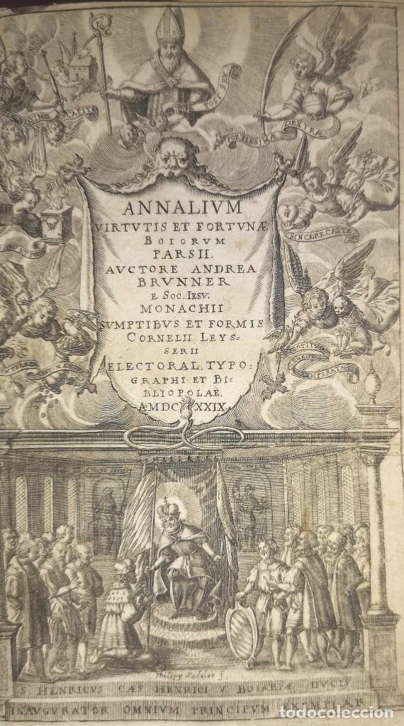 1629. BELLO LIBRO DE HISTORIA ANTIGUA.RARISIMO. NO CATALOGADO (LEER) (Libros antiguos (hasta 1936), raros y curiosos - Historia Antigua)