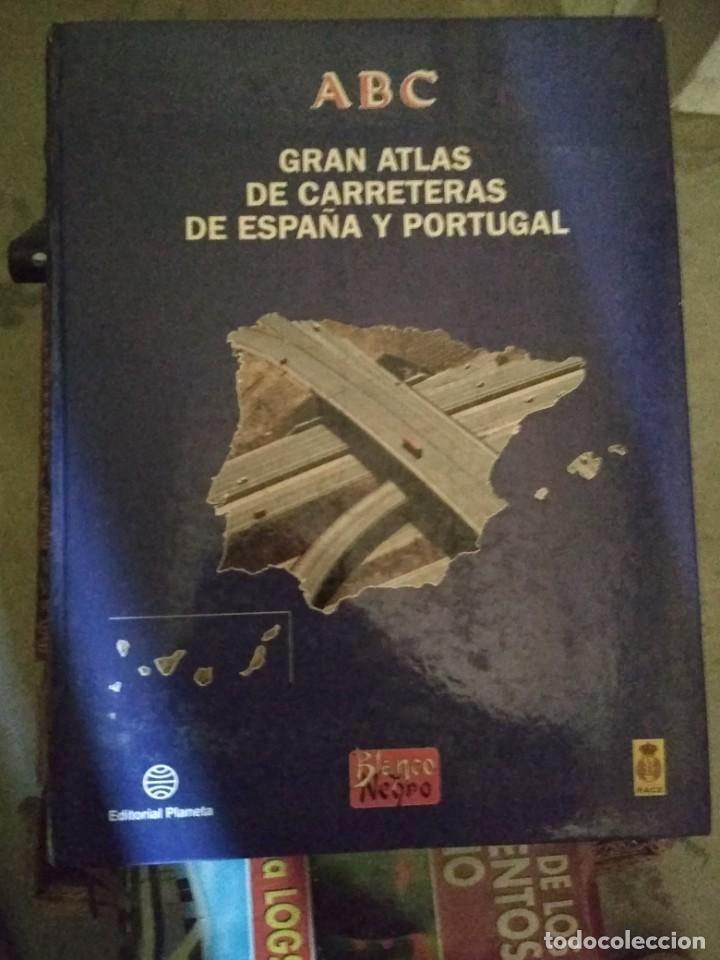 ABC BLANCO Y NEGRO GRAN ATLAS DE CARRETERAS EUROPA ESPAÑA Y PORTUGAL 1992 PLANETA (Libros antiguos (hasta 1936), raros y curiosos - Historia Antigua)