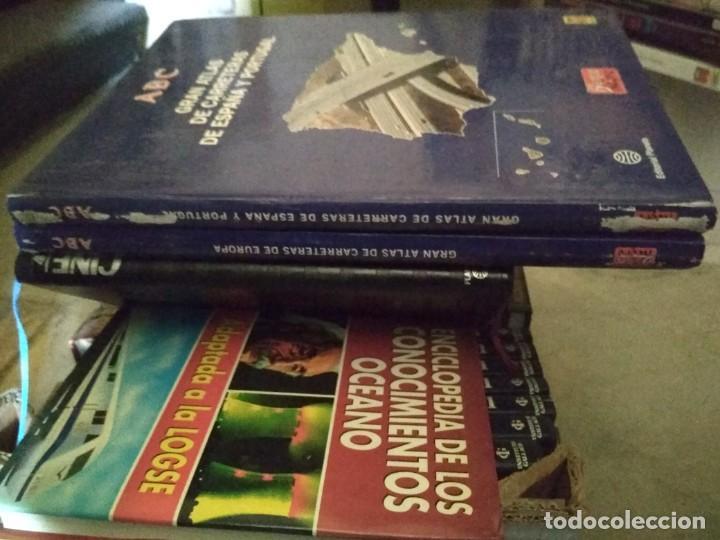 Libros antiguos: ABC blanco y negro Gran Atlas de carreteras Europa España y Portugal 1992 planeta - Foto 2 - 185696010