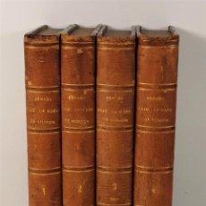 Libros antiguos: ESPAÑA BAJO EL REINADO DE LA CASA DE BORBÓN. 4 TOMOS. G. COXE. EDIT. MELLADO.. Lote 185959541