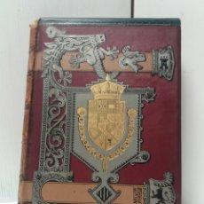 Libros antiguos: HISTORIA DE ESPAÑA POR MODESTO LAFUENTE TOMO V. LIBRO 1888. Lote 186268837