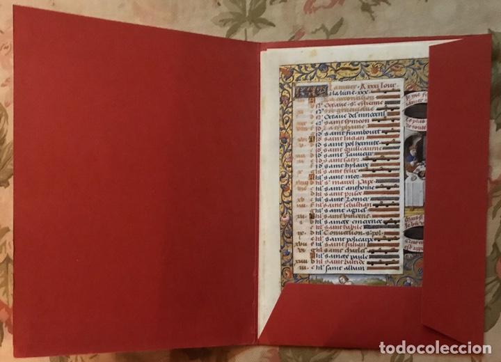 Libros antiguos: Horóscopo de Carlos VIII - Foto 2 - 186456445