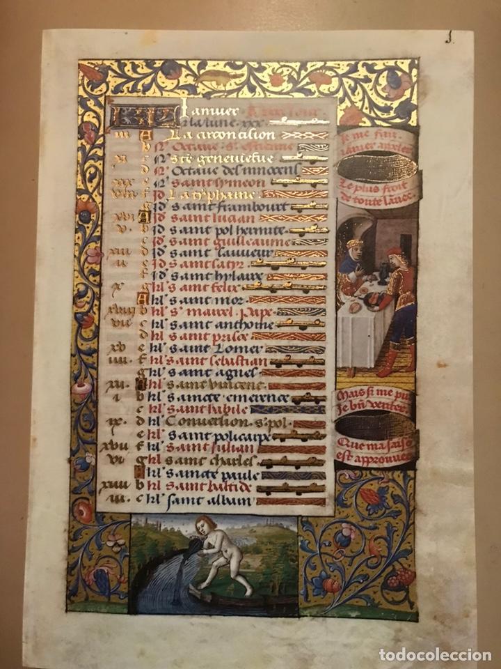 Libros antiguos: Horóscopo de Carlos VIII - Foto 3 - 186456445