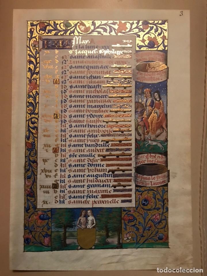 Libros antiguos: Horóscopo de Carlos VIII - Foto 4 - 186456445