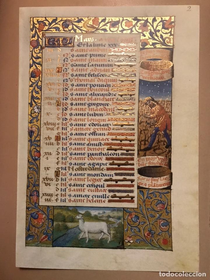 Libros antiguos: Horóscopo de Carlos VIII - Foto 6 - 186456445