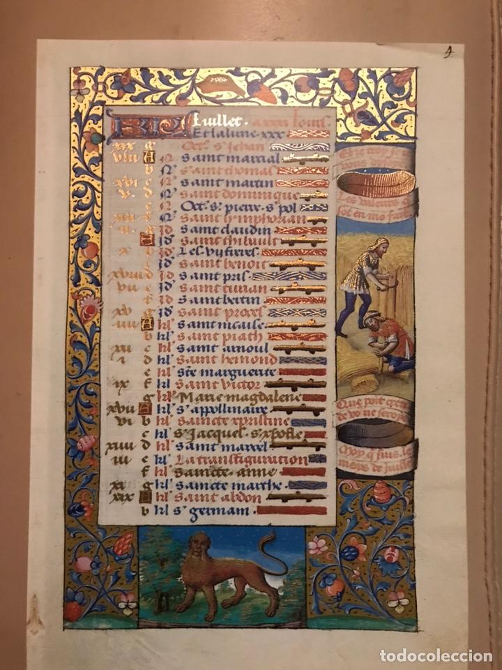 Libros antiguos: Horóscopo de Carlos VIII - Foto 9 - 186456445