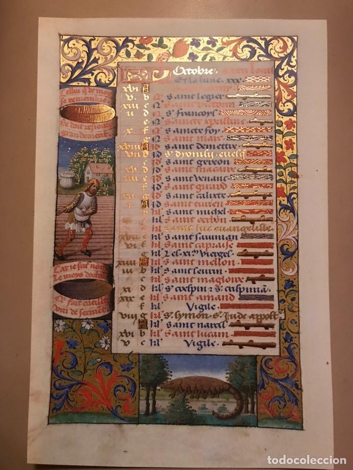 Libros antiguos: Horóscopo de Carlos VIII - Foto 10 - 186456445