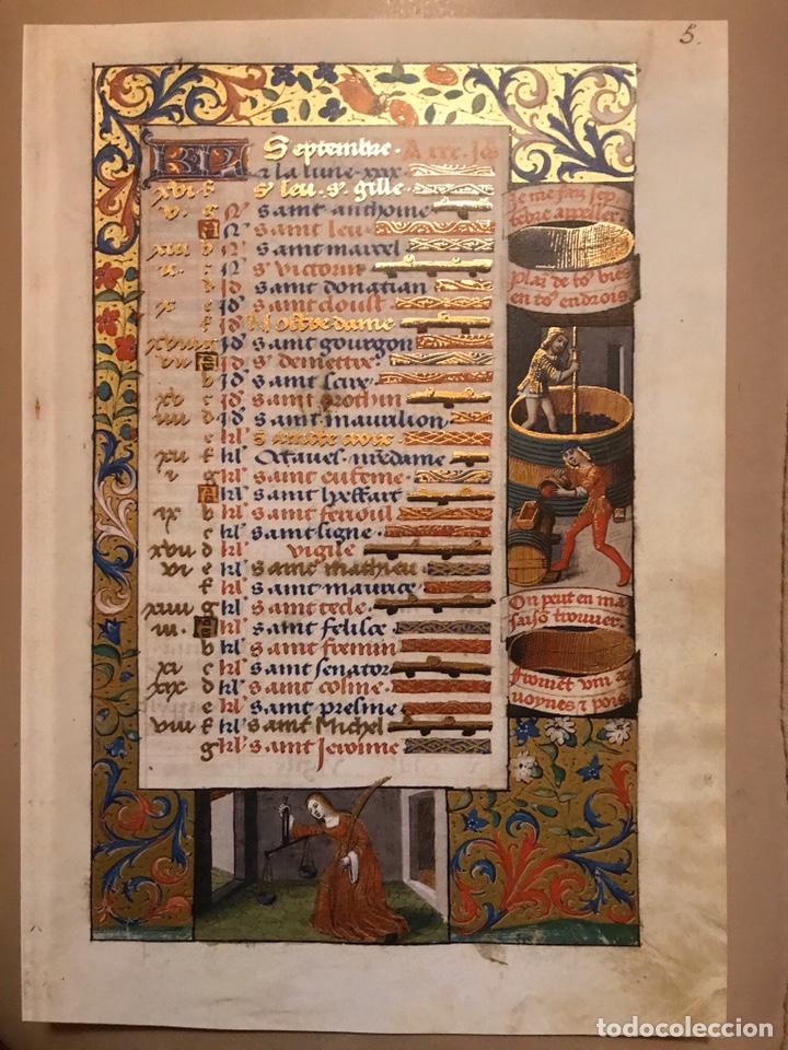 Libros antiguos: Horóscopo de Carlos VIII - Foto 11 - 186456445