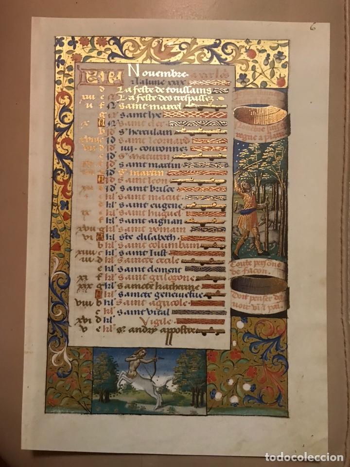 Libros antiguos: Horóscopo de Carlos VIII - Foto 13 - 186456445