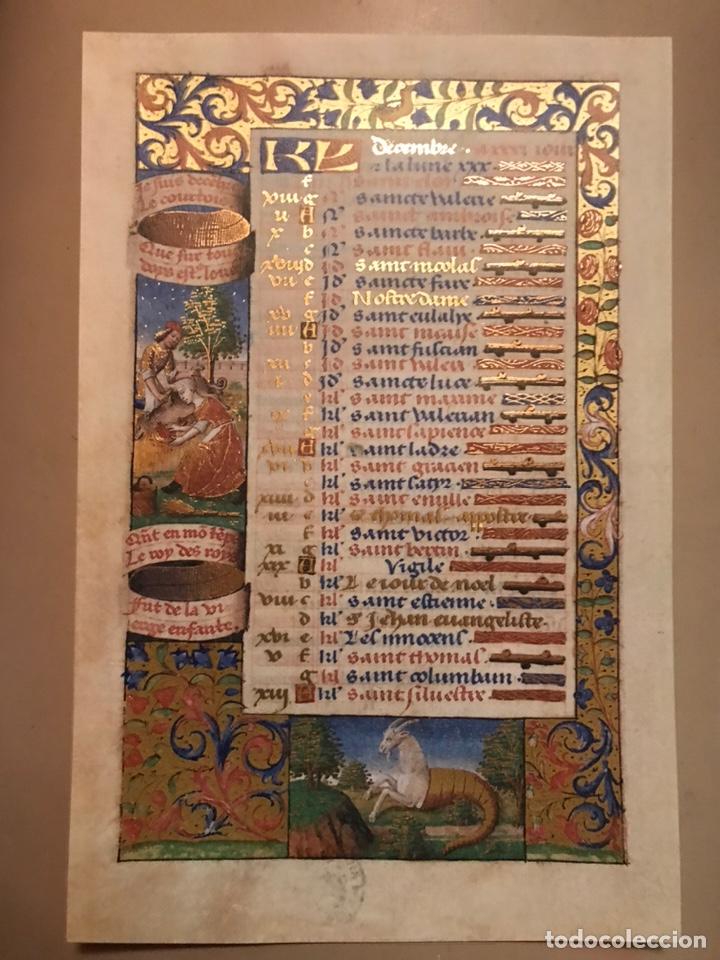 Libros antiguos: Horóscopo de Carlos VIII - Foto 14 - 186456445