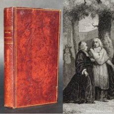 Libros antiguos: 1842 - HISTORIA DE BOSSUET - ENCUADERNACIÓN - GRABADOS. Lote 187175503