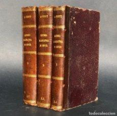 Libros antiguos: 1855 - HISTORIA ECLESIASTICA DE ESPAÑA - RECONQUISTA - DESCUBRIMIENTO DE AMERICA. Lote 187201230