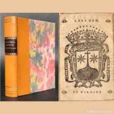Libros antiguos: 1615 EXORCISMOS CONJUROS MAGIA SATANAS DIABLO DEMONIO SEVILLA - ORDEN DE LOS CARMELITAS. Lote 187208336