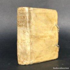 Libros antiguos: 1746 LEPANTO - SACO DE ROMA - CARLOS V - SIGLO DE ORO - HISTORIA - PERGAMINO BATALLA DE SAN QUINTIN. Lote 187209617