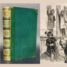 Libros antiguos: 1846 - 200 ILUSTRACIONES - INQUISICIÓN - HISTORIA DE ESPAÑA - MYSTERES DE L'INQUISITION . Lote 187216137