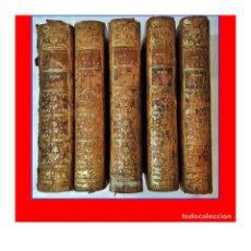 Libros antiguos: AÑO 1771: HISTORIA DEL REINADO DEL EMPERADOR CARLOS V. 5 TOMOS DEL SIGLO XVIII.. Lote 187591737