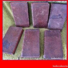Libros antiguos: AÑO 1726: HISTORIA DE LOS JUDÍOS Y DE LOS PUEBLOS ANTIGUOS. 6 TOMOS DEL SIGLO XVIII.. Lote 187591920