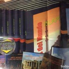 Libros antiguos: GRANDES CIVILIZACIONES DEL PASADO, GRAN FORMATO, 10 VOLÚMENES. Lote 187623478