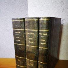 Libros antiguos: 1844 - HISTORIA DE ESPAÑA, ANTONIO ALCALÁ GALIANO, EN 7 TOMOS. Lote 188765537