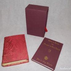 Libros antiguos: FACSIMIL LIBRO HORAS DE MARQUES DE DOS AGUAS GRUPO ARTE Y BIBLIOFILIA. Lote 188811097