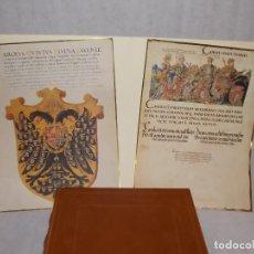 Libros antiguos: FACSIMIL LIBRO HISTORIA HERALDICA Y ORIGEN DE LA NOBLEZA EDITORIAL GRIAL. Lote 188812501