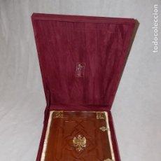 Libros antiguos: FACSIMIL LIBRO GENEALOGÍA DE LOS REYES CATOLICOS EDICIONES SCRIPTORIUM. Lote 189119396