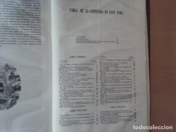 Libros antiguos: HISTORIA GENERAL DE ESPAÑA MARIANA (TOMO I, 1849) - PADRE MARIANA (POR EDUARDO CHAO) - Foto 4 - 189463653
