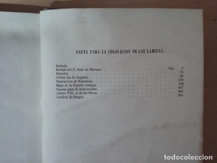 Libros antiguos: HISTORIA GENERAL DE ESPAÑA MARIANA (TOMO I, 1849) - PADRE MARIANA (POR EDUARDO CHAO) - Foto 6 - 189463653