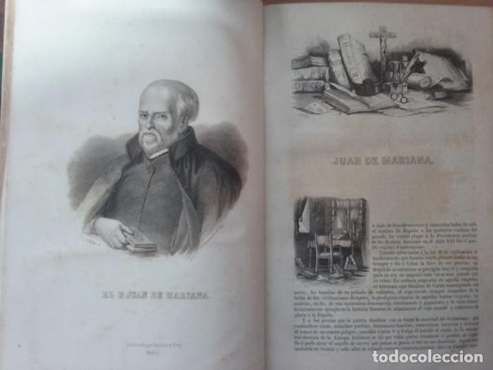 Libros antiguos: HISTORIA GENERAL DE ESPAÑA MARIANA (TOMO I, 1849) - PADRE MARIANA (POR EDUARDO CHAO) - Foto 7 - 189463653