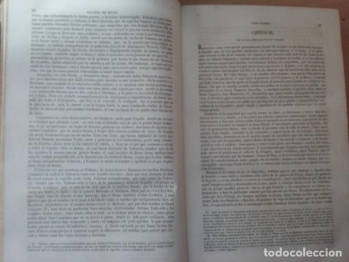 Libros antiguos: HISTORIA GENERAL DE ESPAÑA MARIANA (TOMO I, 1849) - PADRE MARIANA (POR EDUARDO CHAO) - Foto 9 - 189463653