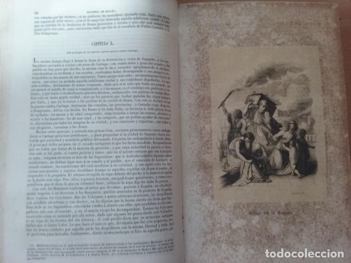 Libros antiguos: HISTORIA GENERAL DE ESPAÑA MARIANA (TOMO I, 1849) - PADRE MARIANA (POR EDUARDO CHAO) - Foto 10 - 189463653