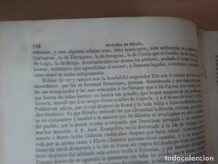 Libros antiguos: HISTORIA GENERAL DE ESPAÑA MARIANA (TOMO I, 1849) - PADRE MARIANA (POR EDUARDO CHAO) - Foto 12 - 189463653