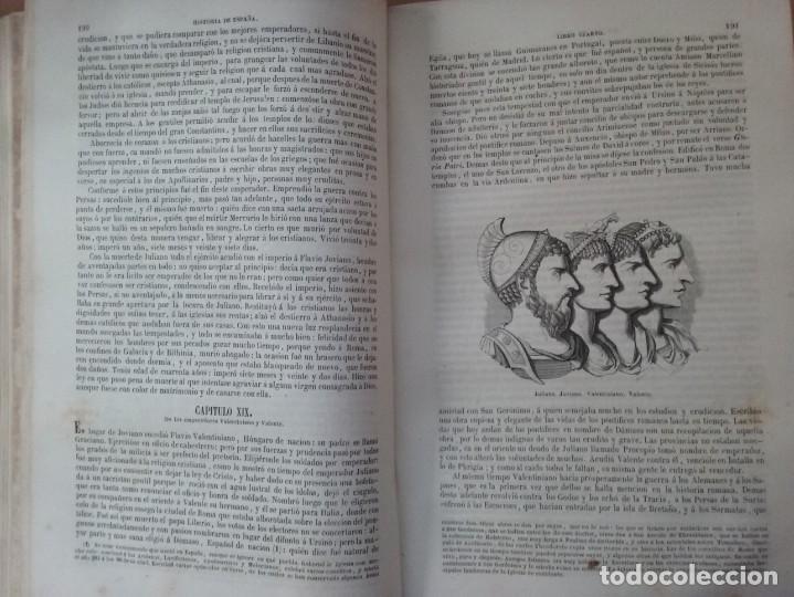 Libros antiguos: HISTORIA GENERAL DE ESPAÑA MARIANA (TOMO I, 1849) - PADRE MARIANA (POR EDUARDO CHAO) - Foto 14 - 189463653