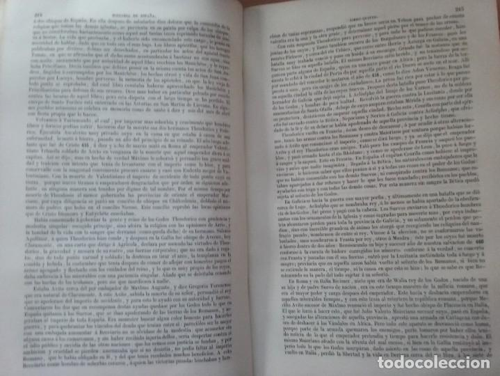 Libros antiguos: HISTORIA GENERAL DE ESPAÑA MARIANA (TOMO I, 1849) - PADRE MARIANA (POR EDUARDO CHAO) - Foto 15 - 189463653